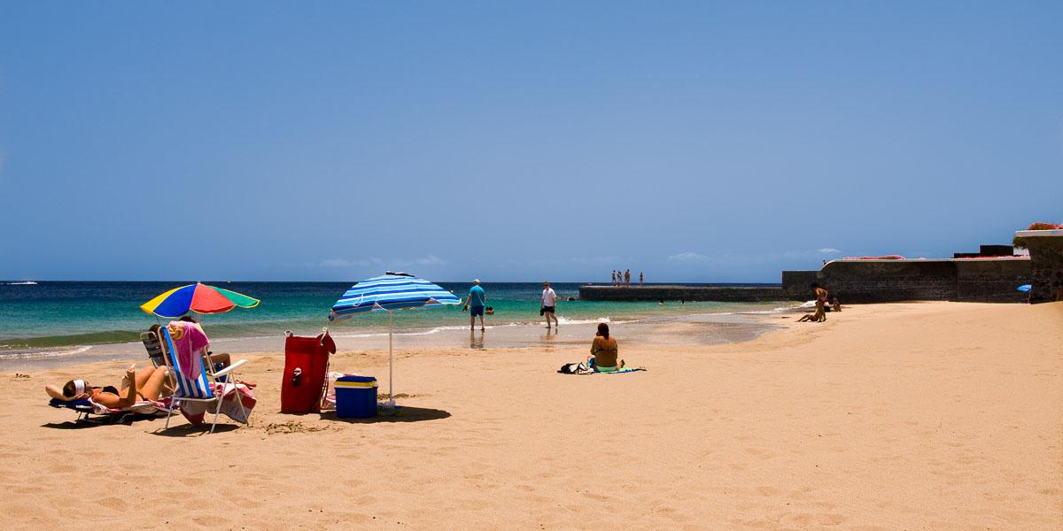 Playa Blanca (Playa Grande) - Puerto del Carmen