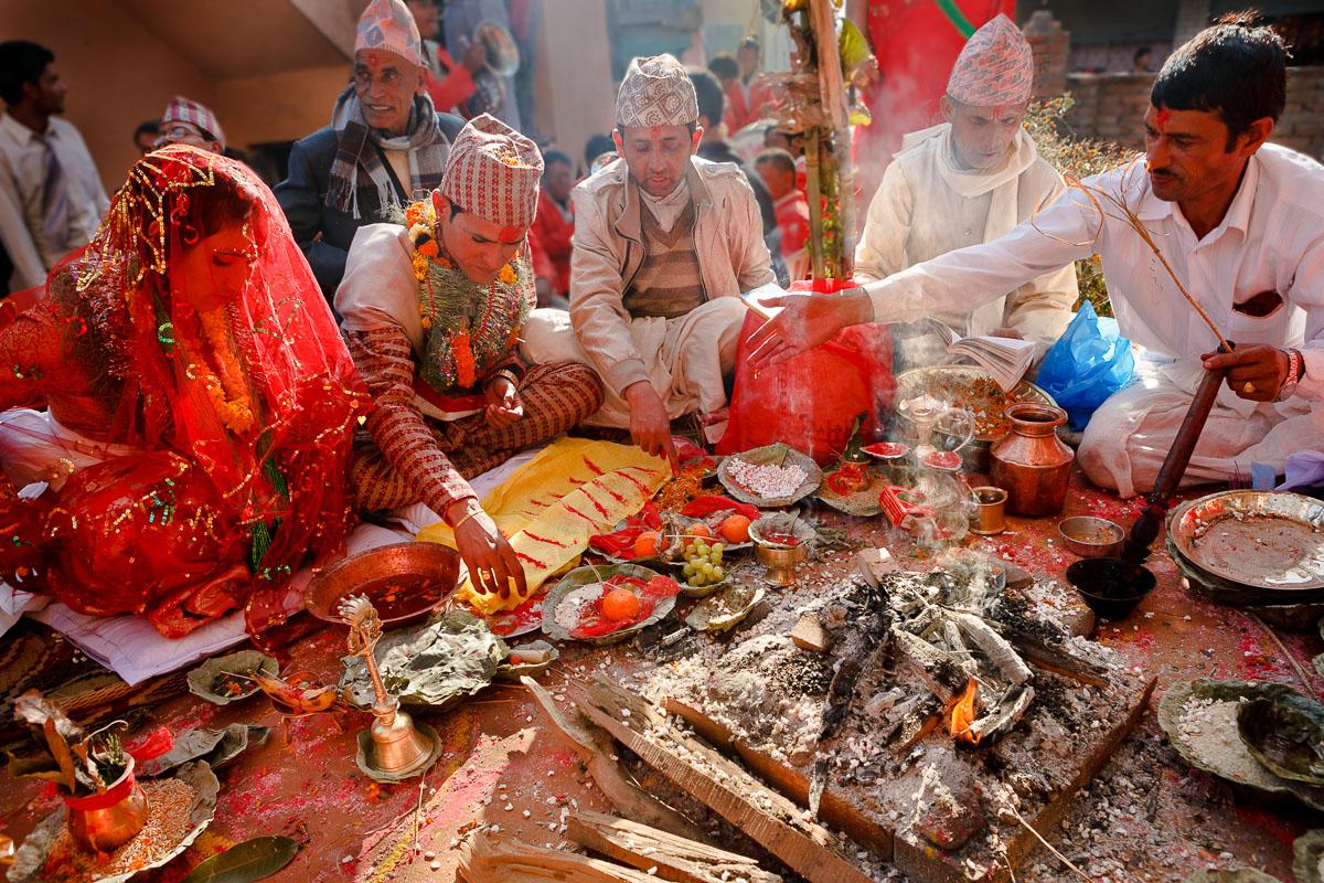 Hindu Wedding - Nepal
