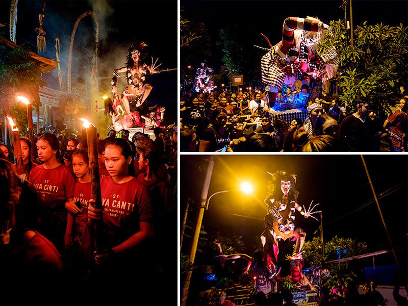 Nyepi - Bali Silence Day 2017-2018 Ogoh-Ogoh Parade
